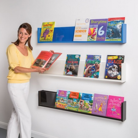 Shelf Style Book & Magazine Display - Colour
