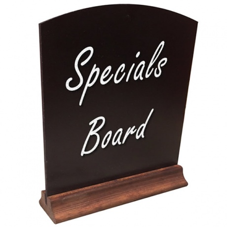 A5/A4/A3 Table Top Menu Board Chalkboard
