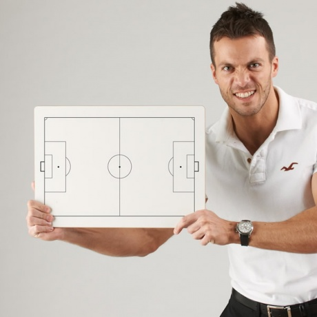 Handheld Tactical Whiteboard | Football & Rugby