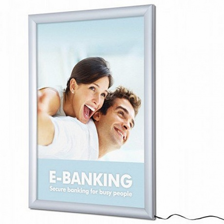 Premium LED Poster Frame - Ultra Thin