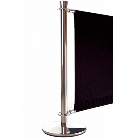 Venezia Cafe Barrier Post | Marine Grade Stainless Steel