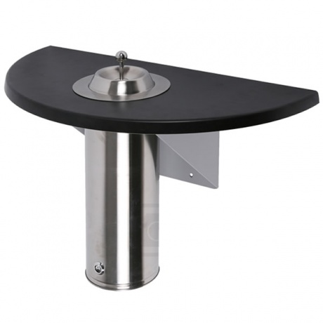 Outdoor Wall Mounted Smoking Table