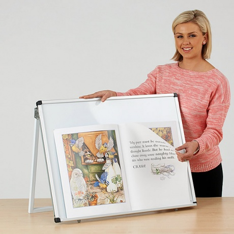 WriteOn Big Book Desk Magnetic Easel