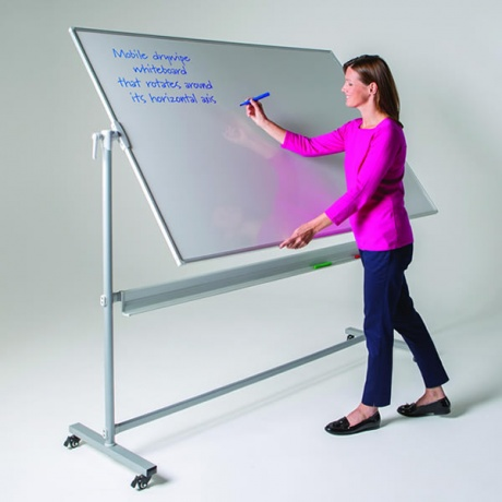 WriteOn Revolving Mobile Whiteboard