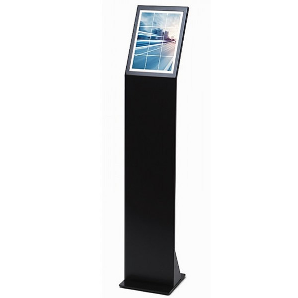 A4 Slim Menu Stand | Black