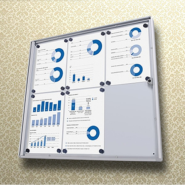Dry Wipe Magnetic Noticeboard XS | Fire Rated Option