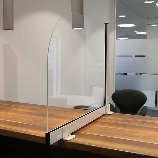 Premium Desk Divider Screen - Side