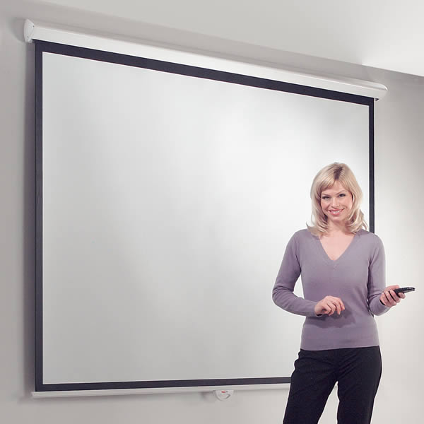 Metroplan Eyeline ® Design Electric Mounted Projection Screen