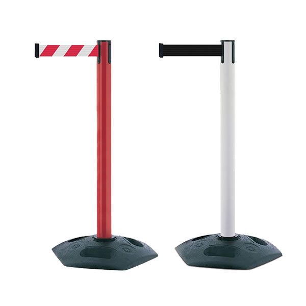 Facility Tensabarrier® Retractable Belt Barrier - 2.3 Metres