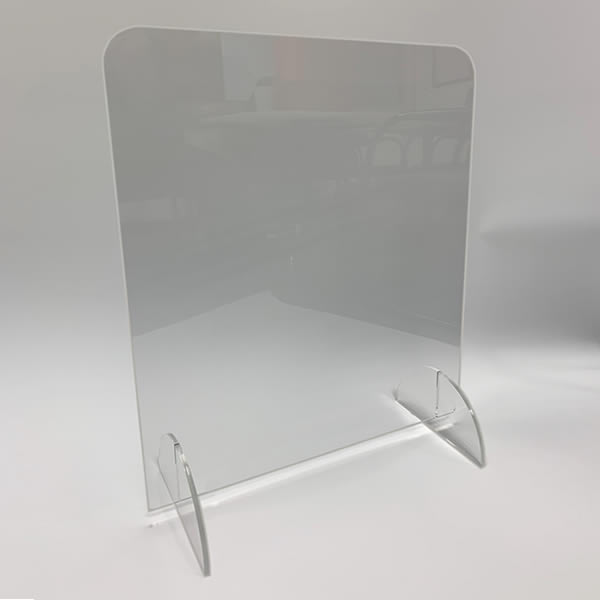 Freestanding Sneeze Screen - 700 H x 600mm W