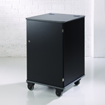 MM100 Colour Multi-Media Cabinet Black