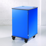 MM100 Colour Multi-Media Cabinet Blue