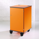 MM100 Colour Multi-Media Cabinet Orange