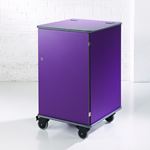 MM100 Colour Multi-Media Cabinet Purple