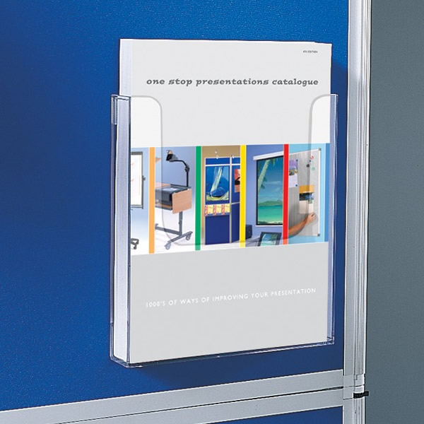 A4/A5/DL Single Pocket Clear Acrylic Literature Dispenser