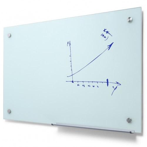 Scritto Glass Whiteboard White Light Display
