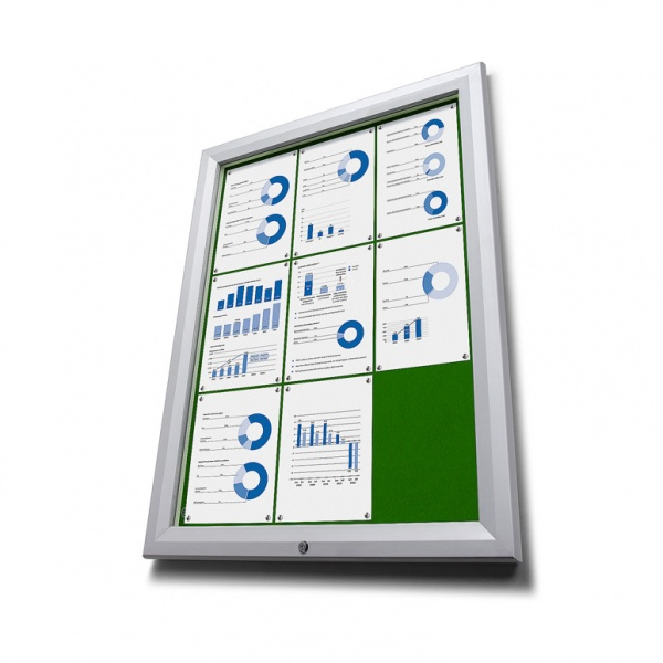 Green Felt Notice Board